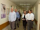 """ביקור מנכ""""לית רשות בתי החולים הממשלתיים 17.11.14"""