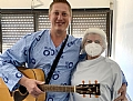 The musician hospitalized in the Hillel Yaffe coronavirus department